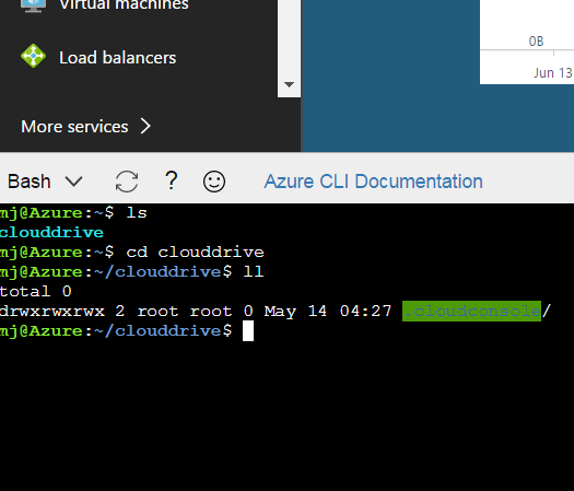 Azure Portal - Cloud Shell